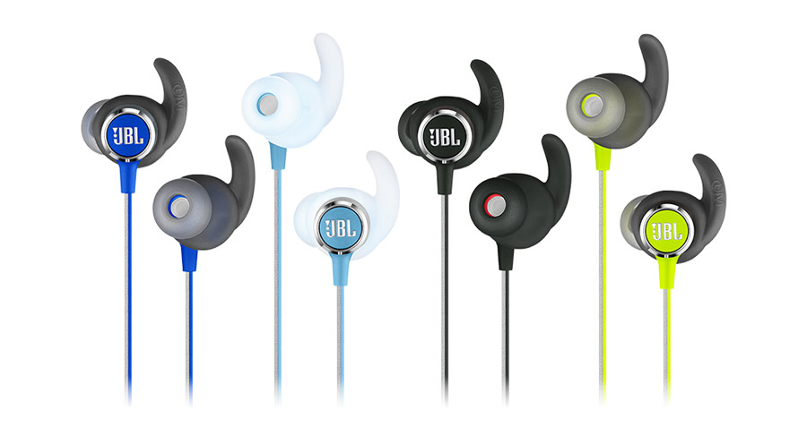 JBL In Ear Reflect Mini 2 Wireless Sport Black