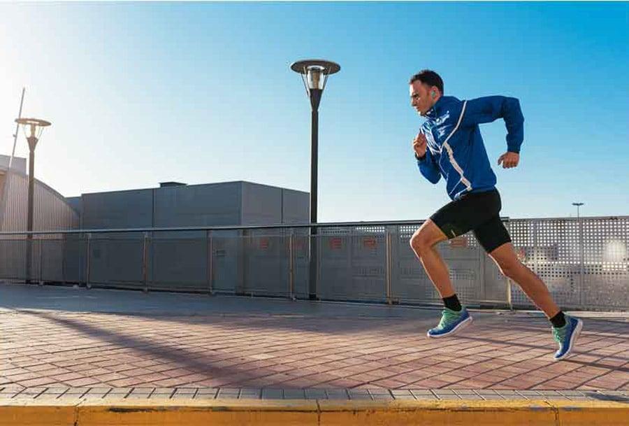 JBL In Ear Endurance RUN Sweatproof Wired Sports Red