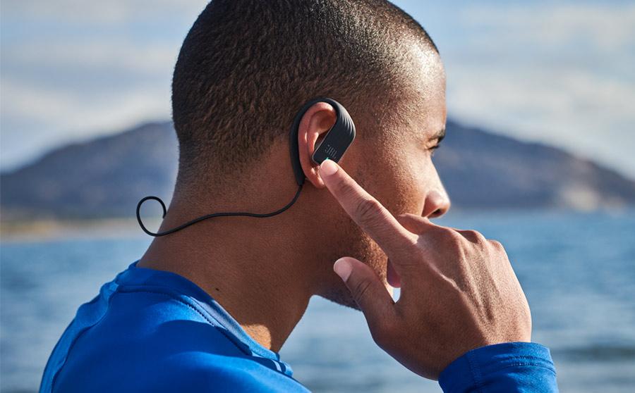 JBL In Ear Endurance SPRINT Waterproof Wireless Black