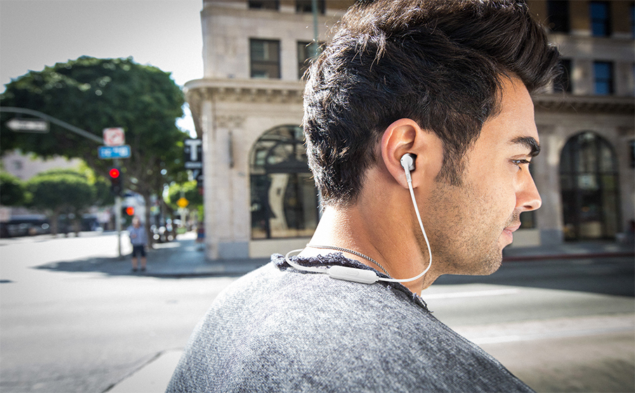 JBL Tune 205BT Wireless Bluetooth Earbud Headphones Black