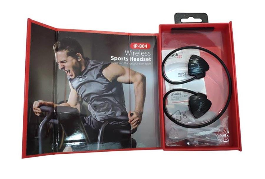 IPIPOO Wireless Sports Headset iP-804 Black