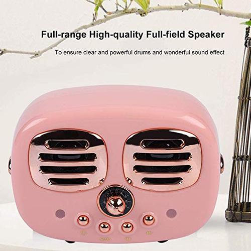 Sino Wireless Speaker and Micophone Pink