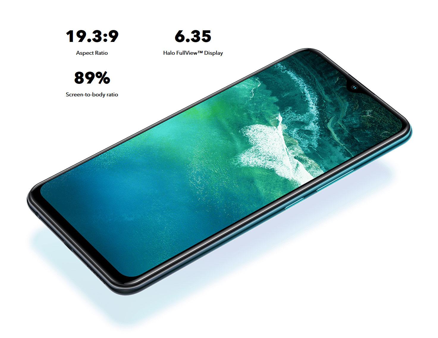 vivo Smartphone Y17 Mineral Blue