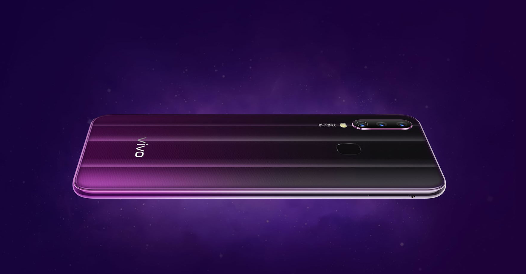 vivo Smartphone Y17 Mystic Purple