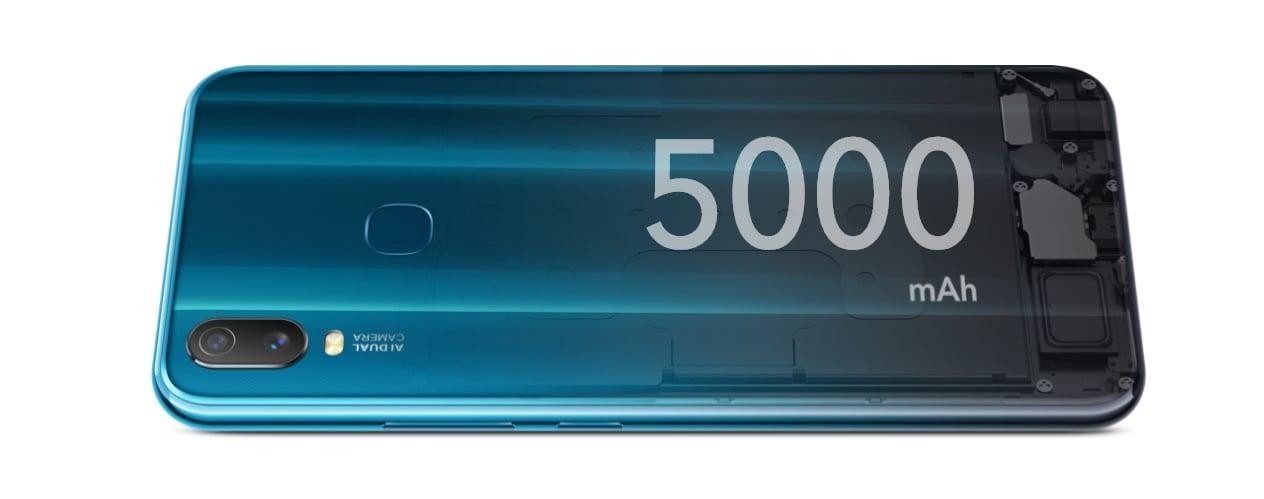 vivo Smartphone Y11 Mineral Blue