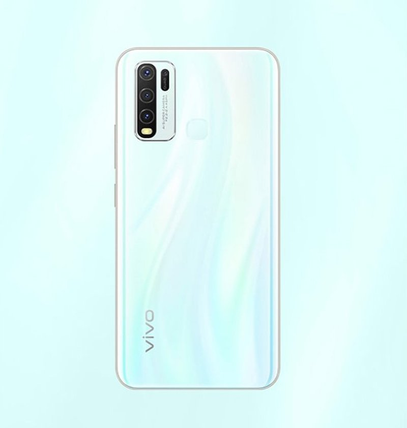 vivo Smartphone Y30 (4+64GB) Moonstone White