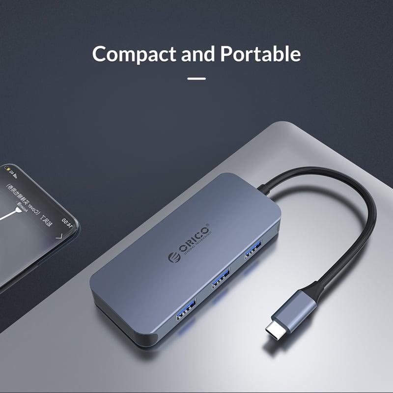 Orico USB3.1 Type-C Adapter Grey (MC-U602P)