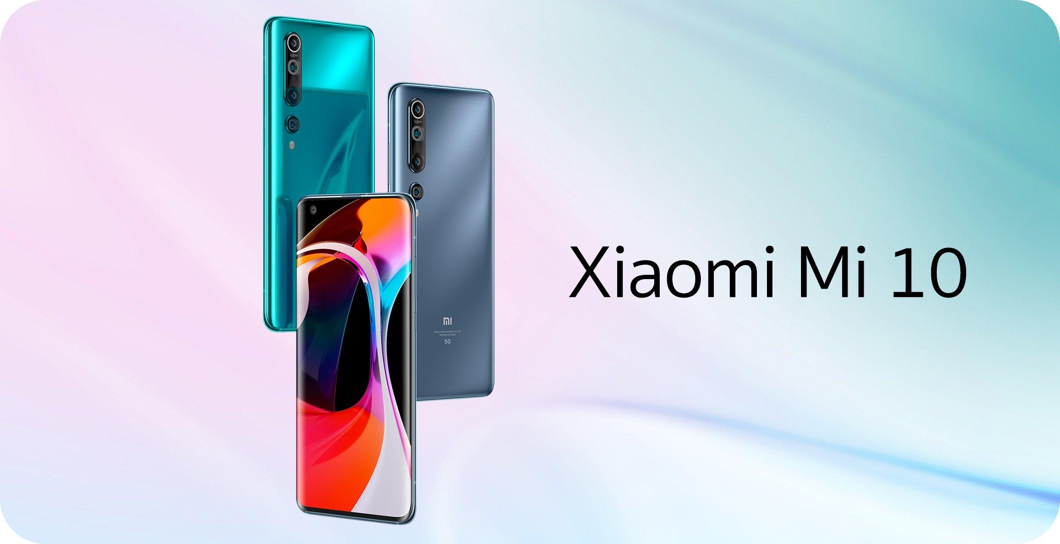 Xiaomi Smartphone Mi 10 (8+256) Twilight Gray (5G)