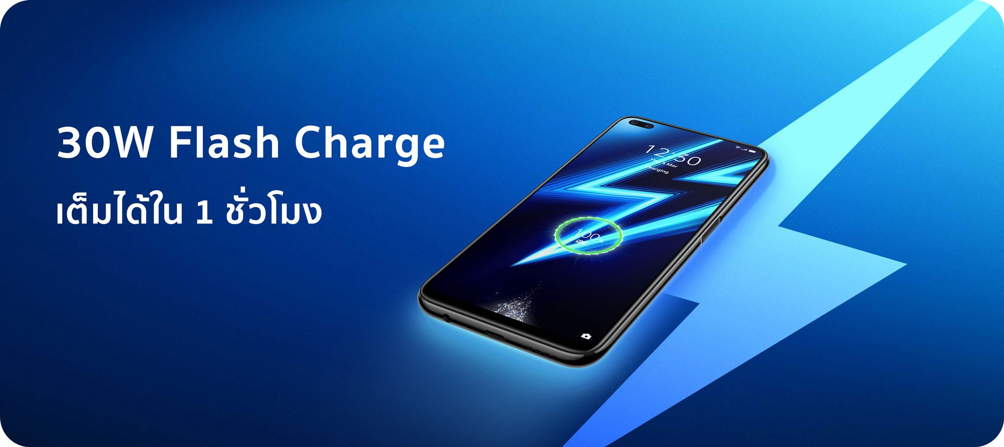 Realme Smartphone Realme 6 Pro (8+128) Lightning Blue