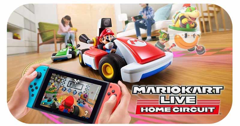 Switch-G : Luigi Kart Live