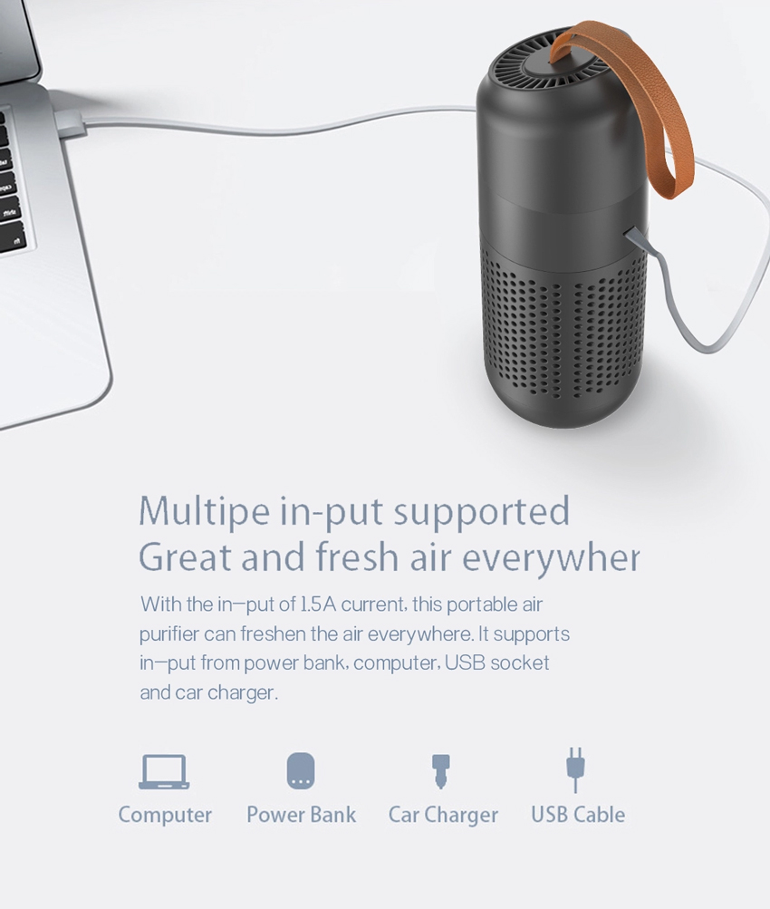 Winswift Mini Air Purifier with HEPA