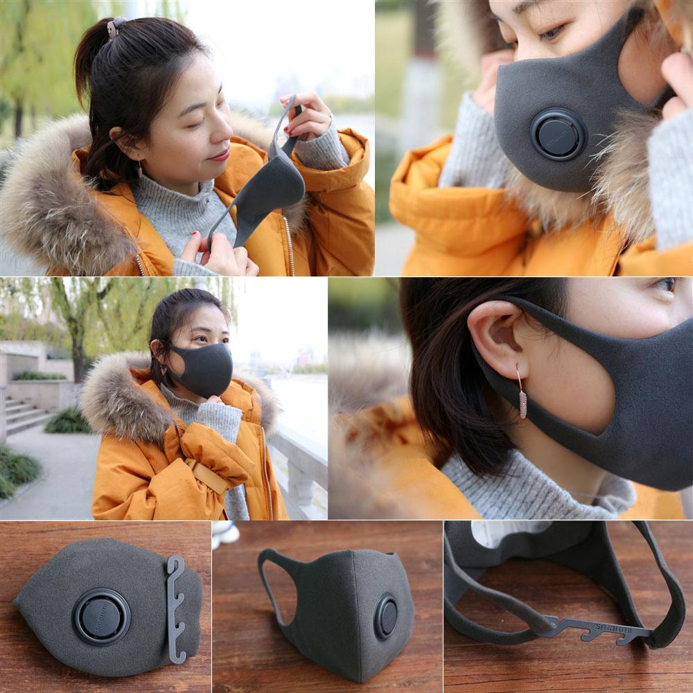 Xiaomi Mi Anti-Pollution Mask M 3 pcs. Black