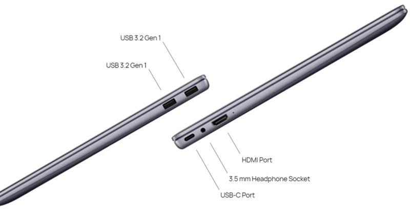 Huawei Notebook MateBook 14 R5 4600H Grey (A)