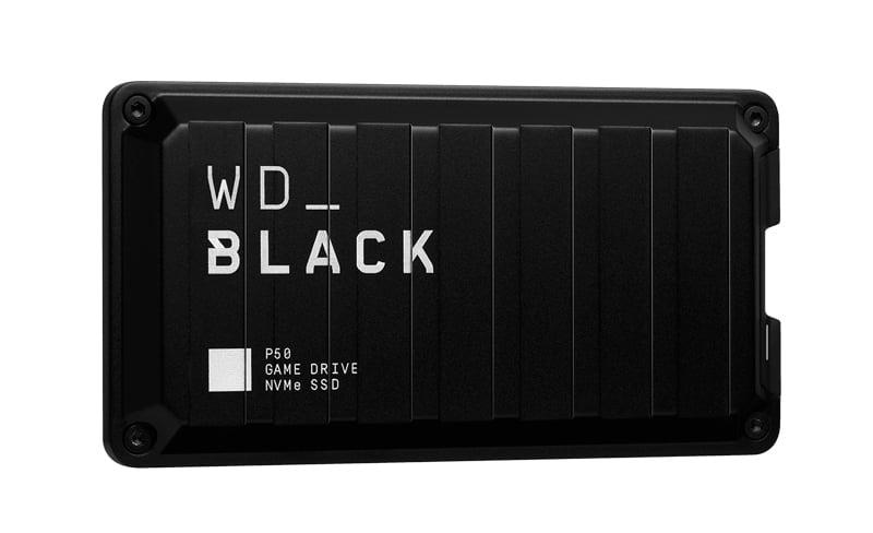 SSD พกพา 500GB WD ฺBlack P50 Game Drive
