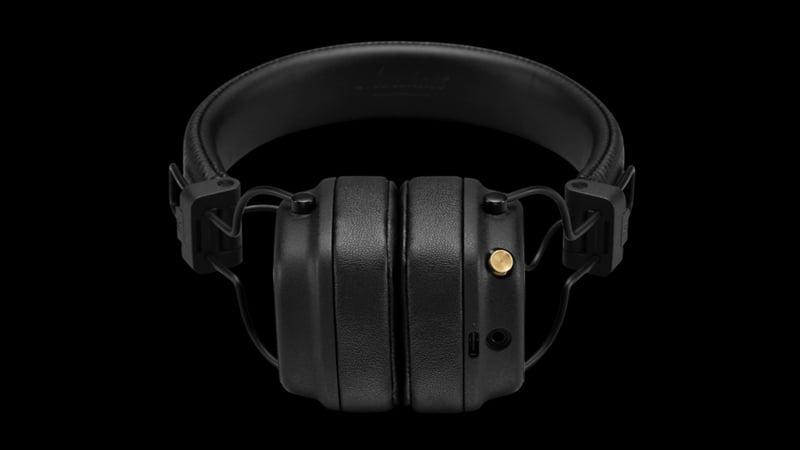 Marshall Bluetooth Headphone Major IV Black