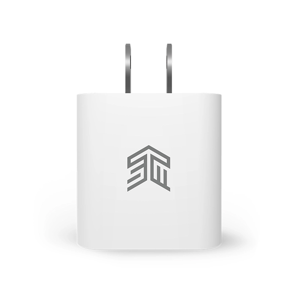 STM Wall USB Chager 1 USB-C (PD20W) White