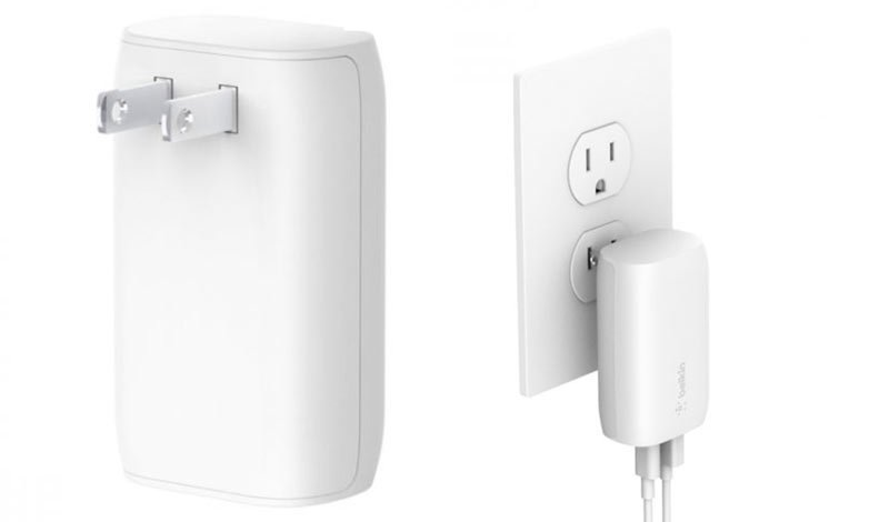 Belkin Wall USB Charger 1 USB-A 1 USB-C (32W) White (WCB004dqWH)