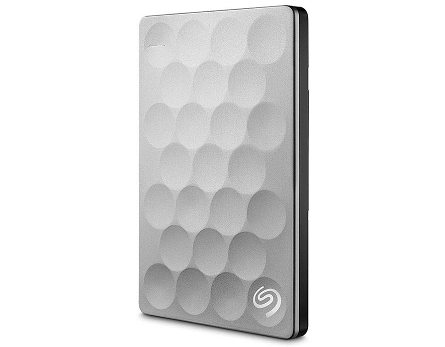 Seagate HDD Ext 2TB Backup Plus Ultra Slim 2.5 USB3.0 Platinum (STEH2000300)