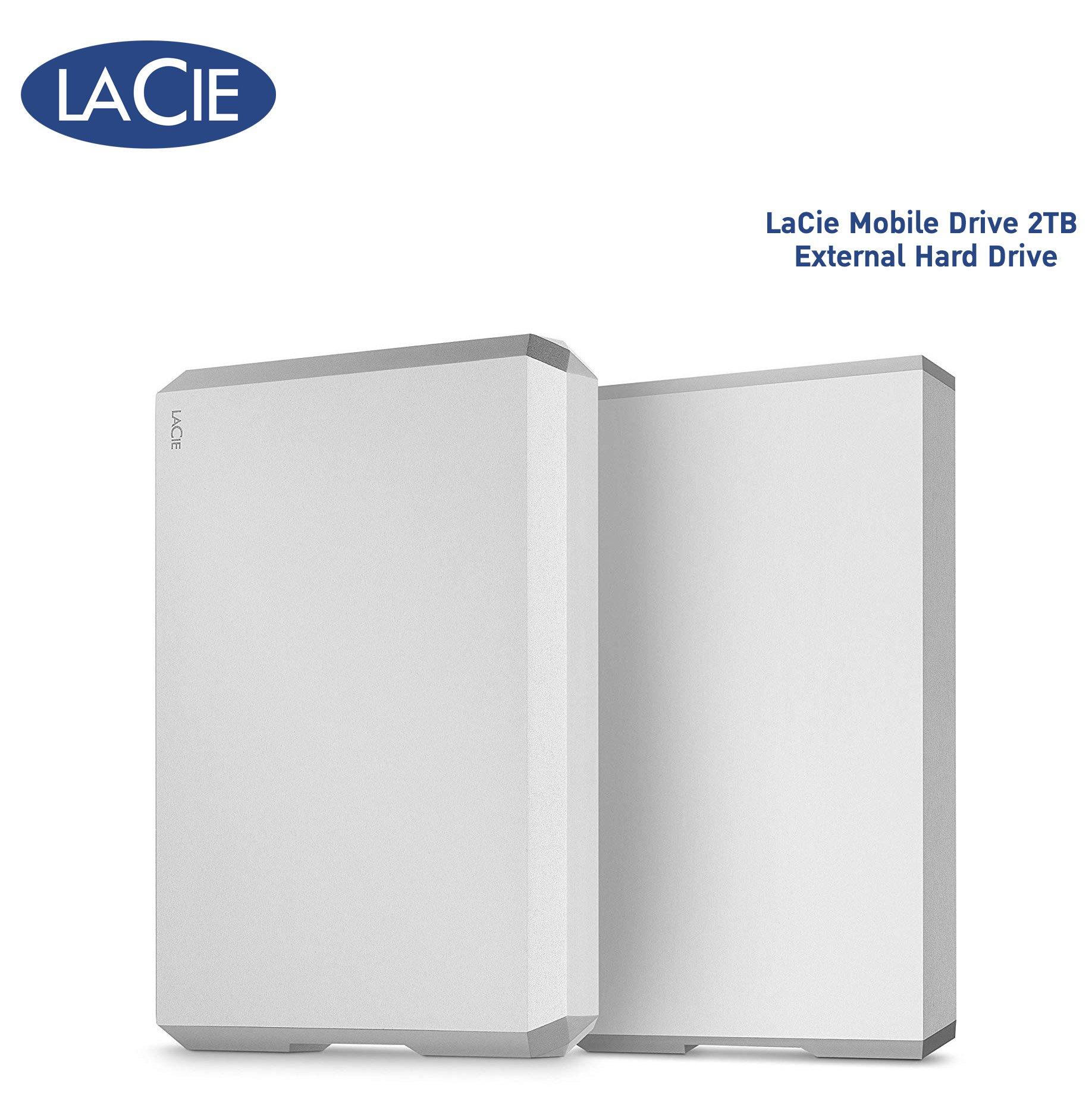 LaCie Mobile Drive 2TB External Hard Drive