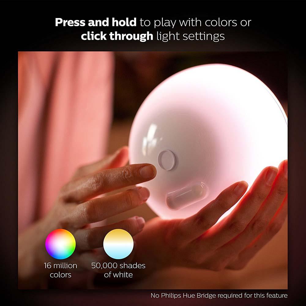 ซื้อ อุปกรณ์เสริมแอพพลิเคชั่นสำหรับแอปเปิ้ล Philips COL Hue Go White ราคาพิเศษ พร้อมโปรโมชั่นลดราคา ส่งฟรี ส่งเร็ว ทั่วไทย