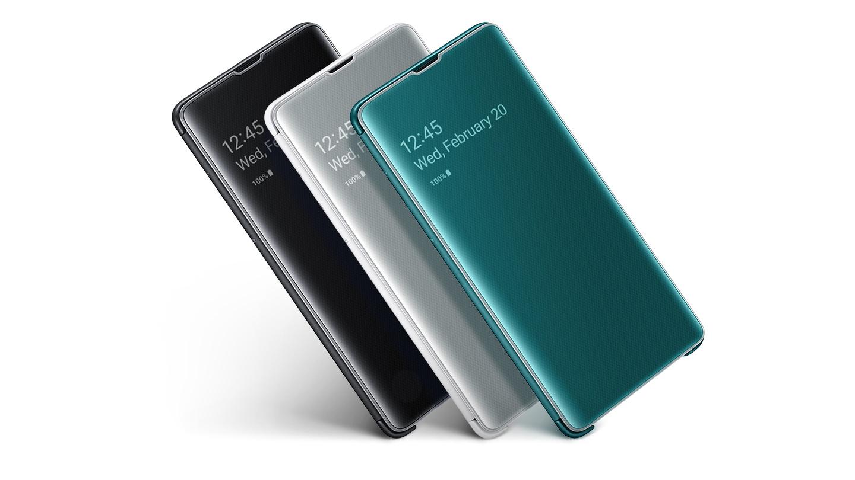 Samsung Accessory Clear View S10e Black