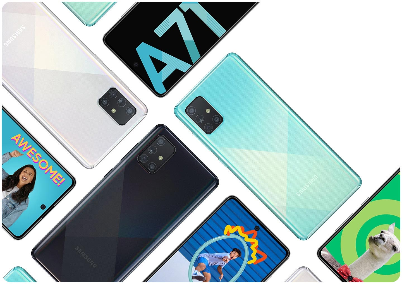 Samsung Galaxy A71 (8+128GB) Prism Crush Silver