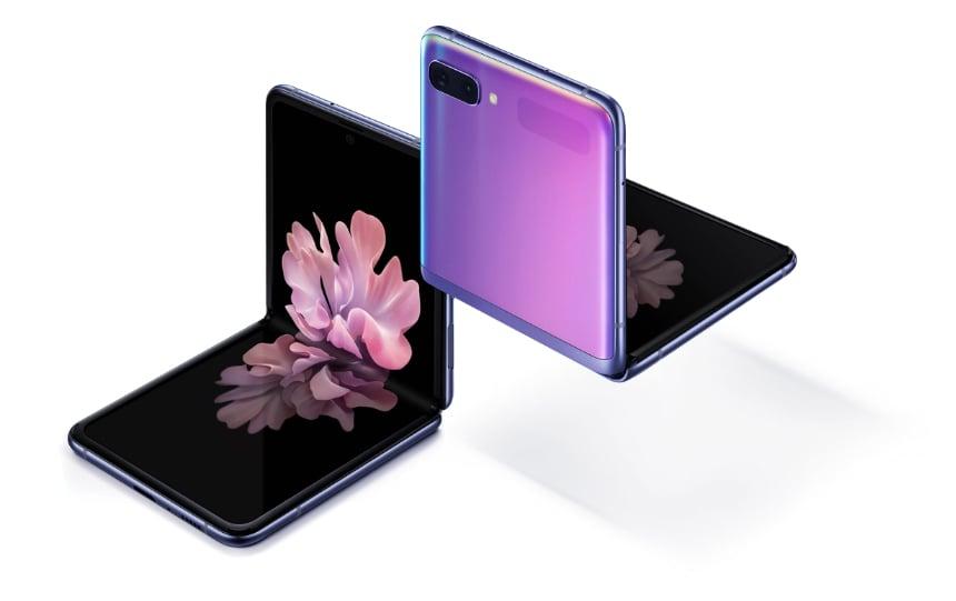 Samsung Smartphone Galaxy Z Flip Mirror Black