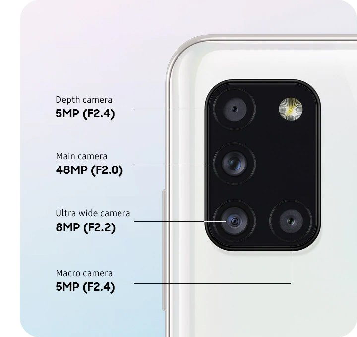 Samsung Smartphone Galaxy A31