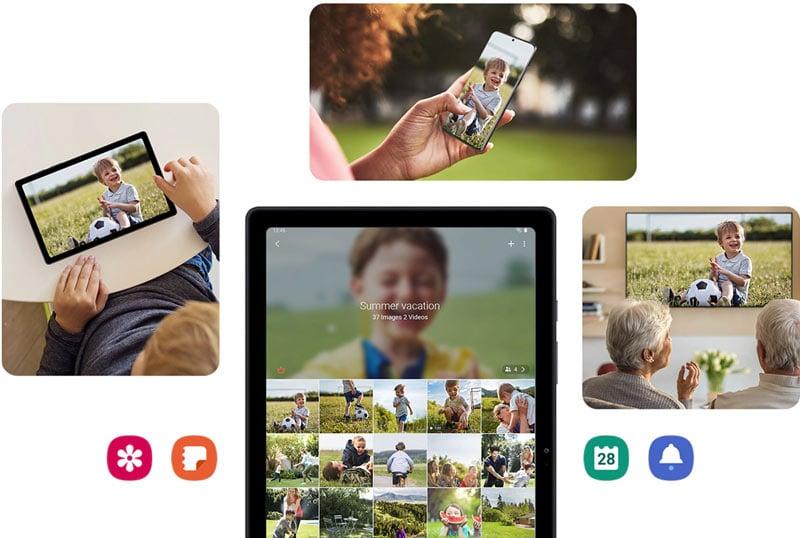 Samsung Tablet Galaxy Tab A7 Wi-Fi (3+64) Dark Grey