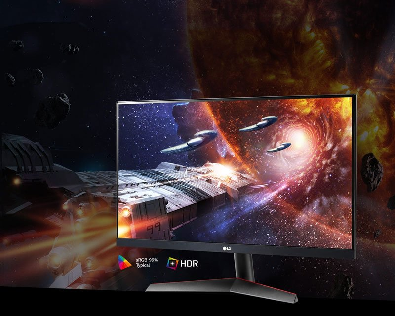 LG MONITOR 24GN600-B.ATM (IPS 1ms 144Hz HDR)