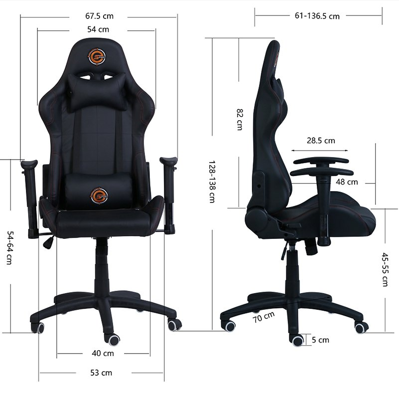 Neolution Gaming Chair Black Panther