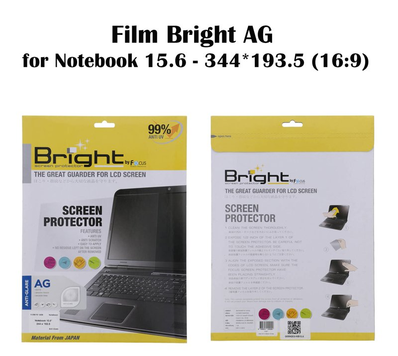 Film Bright AG for Notebook 15.6 - 344*193.5 (16:9)
