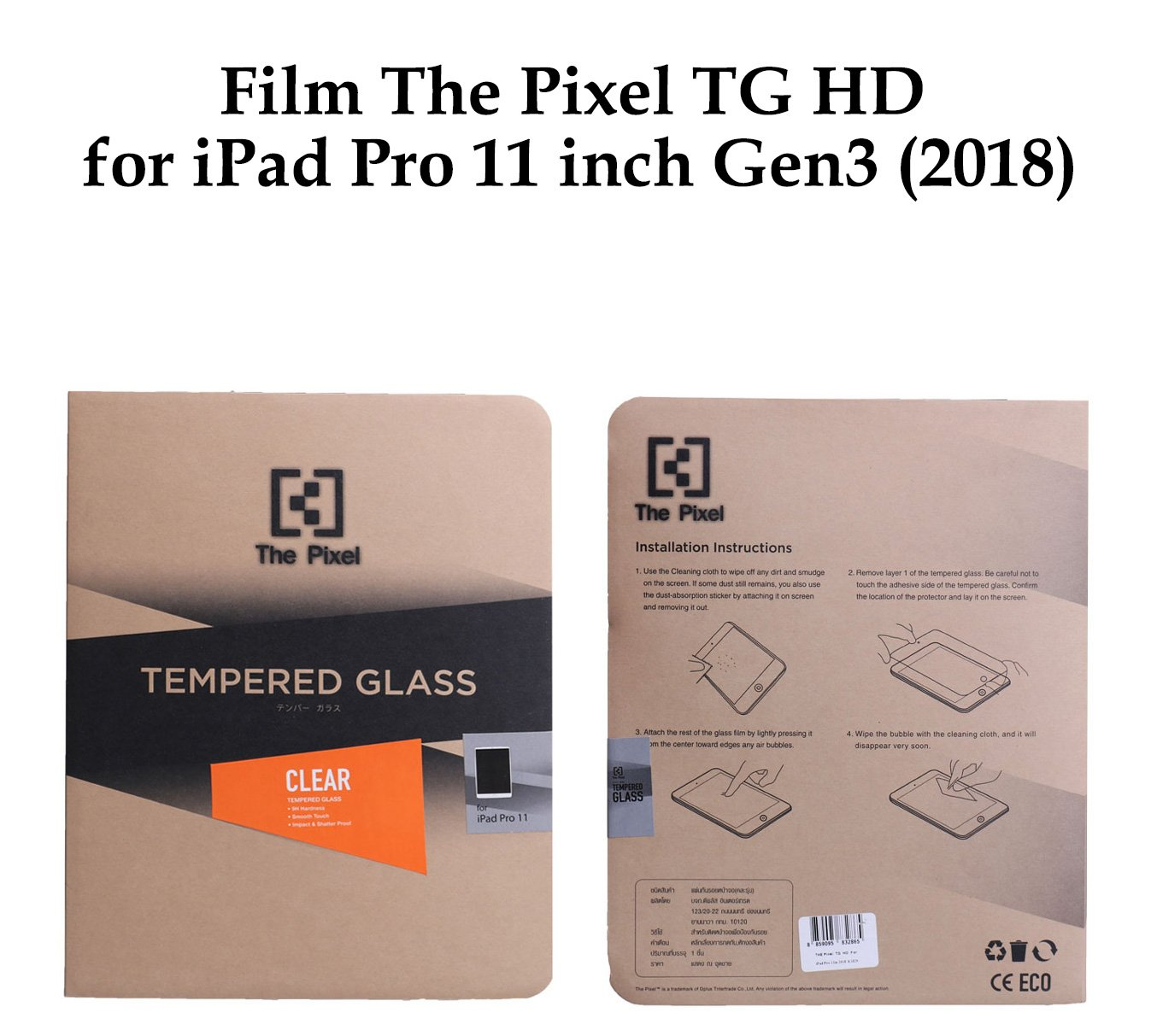 """New Crystal Clear LCD Screen Guard Protector For New Apple Macbook Air 13/""""  2018"""