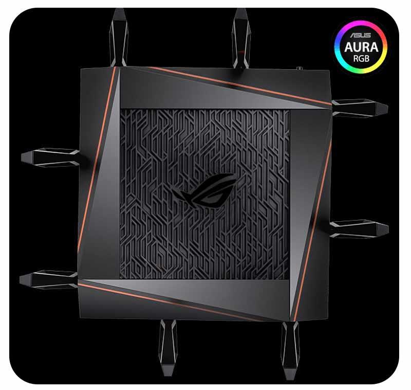 Asus GT-AX11000 Tri-band Wi-Fi 6 (802.11ax) Gaming Router V.2