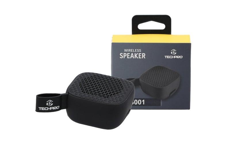 Tech Pro Bluetooth Speaker TS001 Black