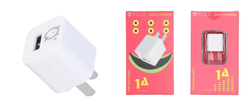 QPLUS Wall USB Charger 1 Port D021