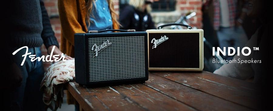 Fender Bluetooth Speaker INDIO Black