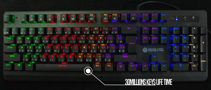 Neolution E-Sport Gaming Keyboard Quantum