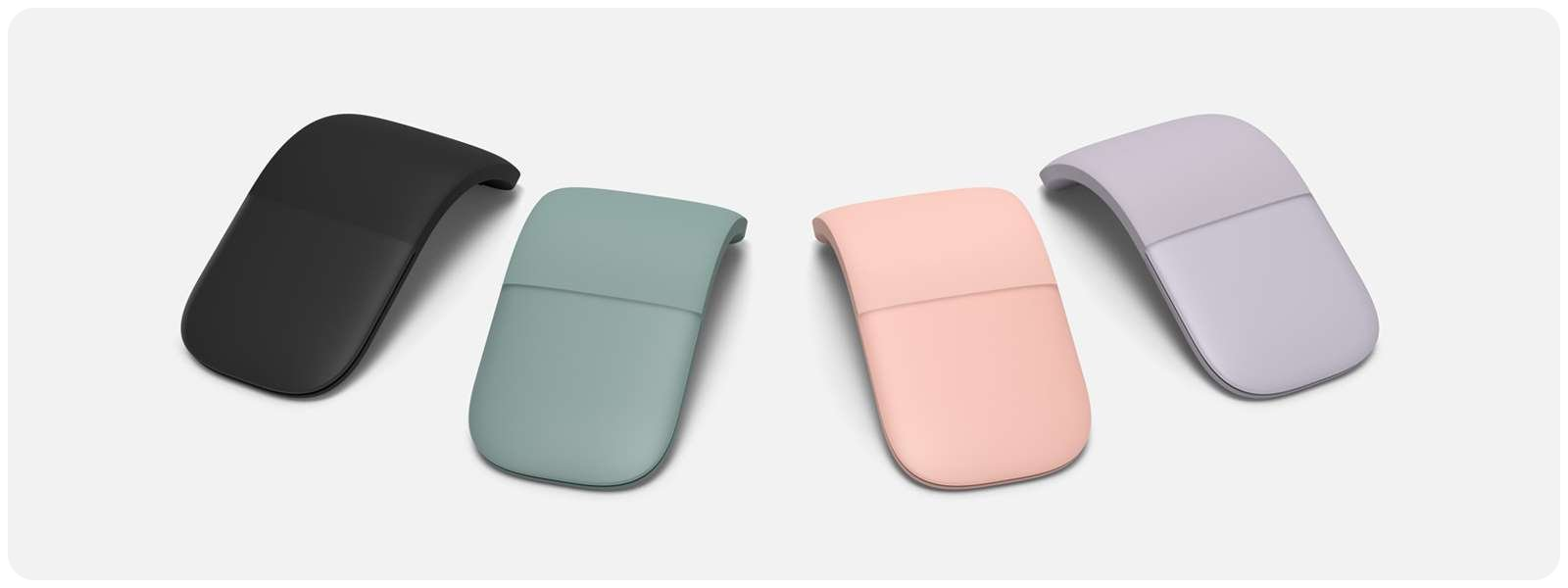 Microsoft Arc Mouse Bluetooth Soft Pink