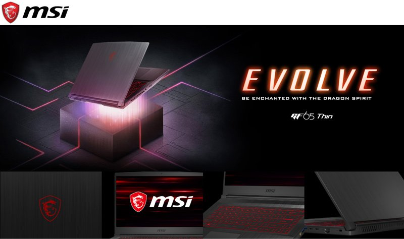 MSI Notebook GF65 Thin