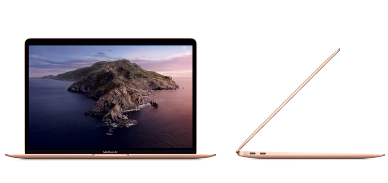 Apple MacBook Air 13.3 : 1.1GHz dual-core Intel Core i3 Gen10th/8GB/256GB