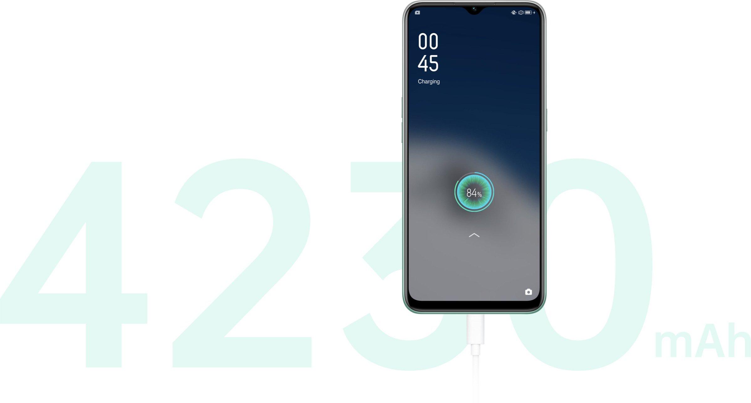 OPPO Smartphone A31 (4GB+128GB) Mystery Black