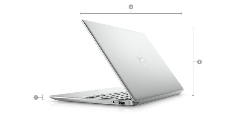 Dell Notebook INSPIRON 5391-W566051007THW10 Silver