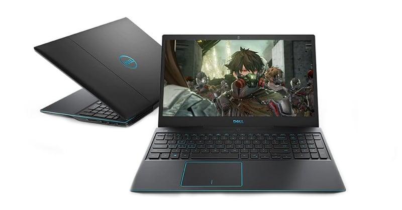 Dell Notebook Inspiron G3-W56636000THW10 Black
