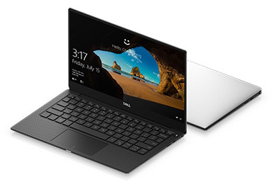 Dell Notebook XPS 9370-W56795607THW10 Silver