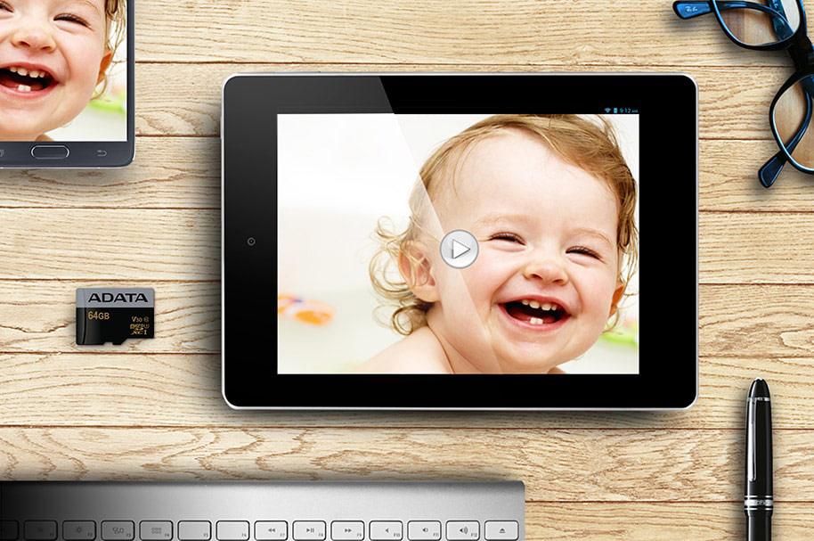 ซื้อ การ์ดหน่วยความจำ ADATA Premier Pro MicroSDXC 64GB C10 U3 R95W50 with SD Adapter กล้อง, อุปกรณ์เสริม, เมมโมรี่การ์ดการ์ด, Micro SD ,การ์ด Micro SD, microSDXC, สื่อจัดเก็บข้อมูล, หน่วยความจำ, เมมโมรี่การ์ความเร็วสูง, หน่วยความจำพกพา, ราคาพิเศษ พร้อมโปรโมชั่นลดราคา ส่งฟรี ส่งเร็ว ทั่วไทย