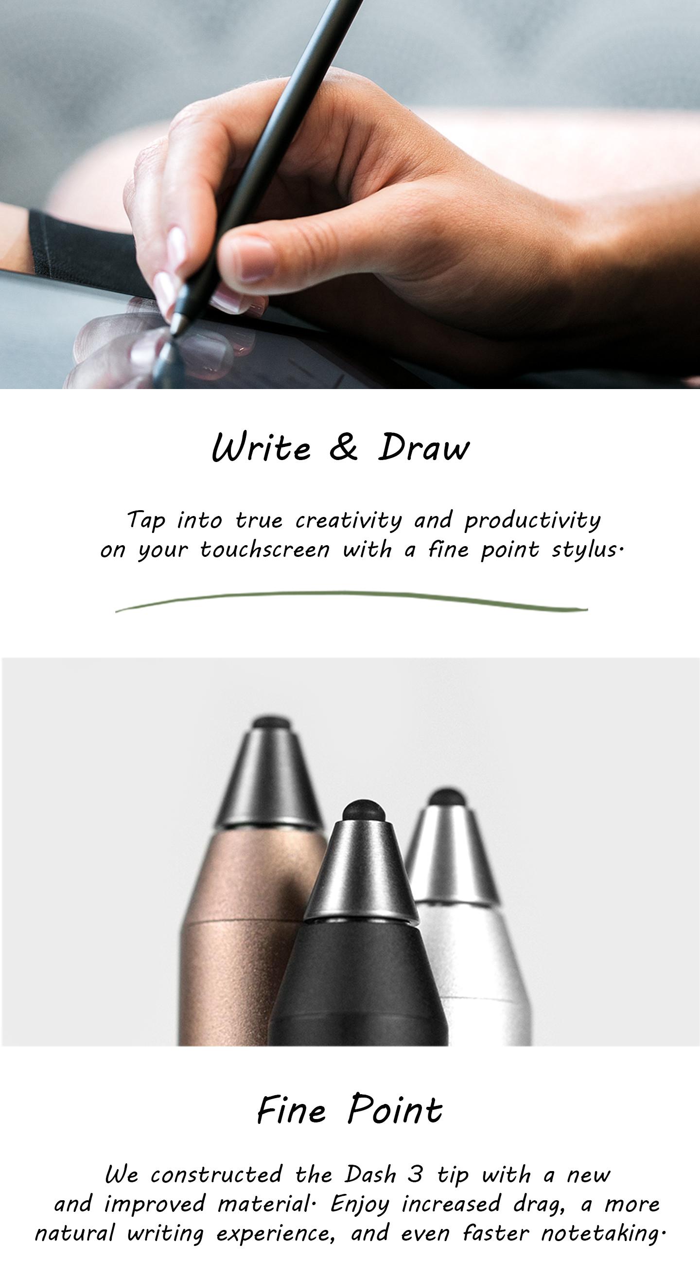 ซื้อ ปากกาสไตลัส Adonit Stylus Dash 3 Silver , ปากกาสไตลัสไอแพด, ปากกาสไตลัสไอแพดหัวใหญ่, ปากกาสไตลัสไอแพดหัวเล็ก, ปากกาสไตลัสน้ำหนักเบา, ปากกาสไตลัสแอนดรอยด์, ปากกาดิจิตอลวาดรูป, ปากกาดิจิตอลจดบันทึก, ปากกาสไตลัสยอดนิยม ราคาพิเศษ พร้อมโปรโมชั่นลดราคา ส่งฟรี ส่งเร็ว ทั่วไทย