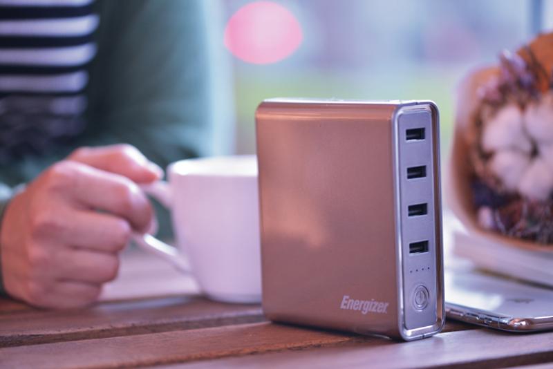 Energizer Power Bank XP20001PD for Macbook 20000 mAh White