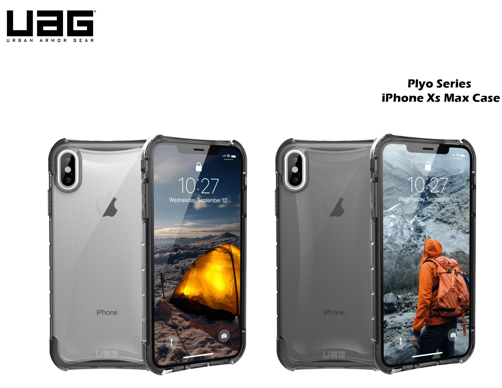 reputable site a6fc5 8980c UAG Casing for iPhone XS Max Plyo Ice