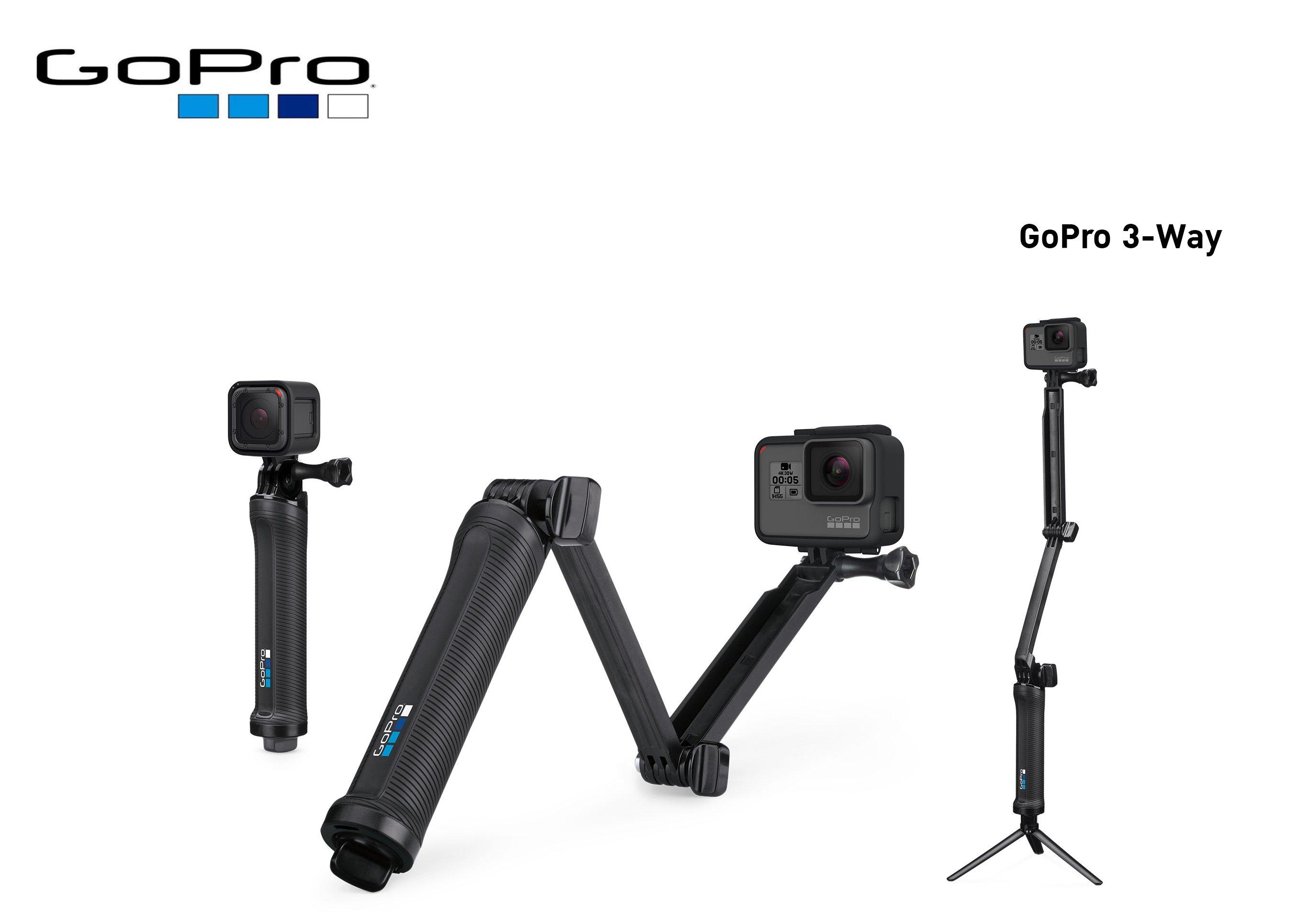 ซื้อ อุปกรณ์เสริมโกโปร GoPro 3-Way Grip   Arm   Tripod กล้องโกโปร, อุปกรณ์เสริมโกโปร, แบตเตอรี่, แท่นชาร์จ, ด้ามจับ, กระเป๋าใส่กล้องและอุปกรณ์ ราคาพิเศษ พร้อมโปรโมชั่นลดราคา ส่งฟรี ส่งเร็ว ทั่วไทย